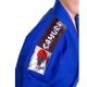 Kimono MASUTAZU SAMURAI - 450g  (bílá/modrá)