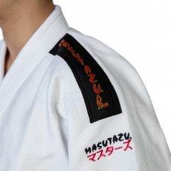 Kimono MASUTAZU SENSHI 2 750g - (bílá/modrá)